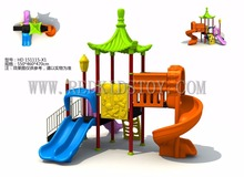Exported to France Kids Outdoor Playground Set CE Approved Children Outdoor Slide HZ-51111A