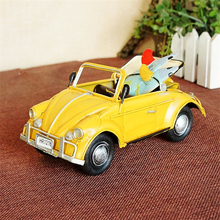 HAOCHU Classic Scale Car Model Diecast Vehicle Metal Toys Kids Room Decor Birthday Gifts Photo Props Vintage Crafts Collection