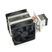 Desktop Computer CPU Cooler Cooling Fan 12V 6A 3PCS Cooling Fan PC 2 Direct Touch Heatpipes Computer CPU Aluminum Radiator(China)
