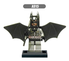 Single Sale Super Heroes Batman Wing Bruce Wayne Bricks Building Blocks Education Learning Toys children Gift XH 105 - Block Toy s store