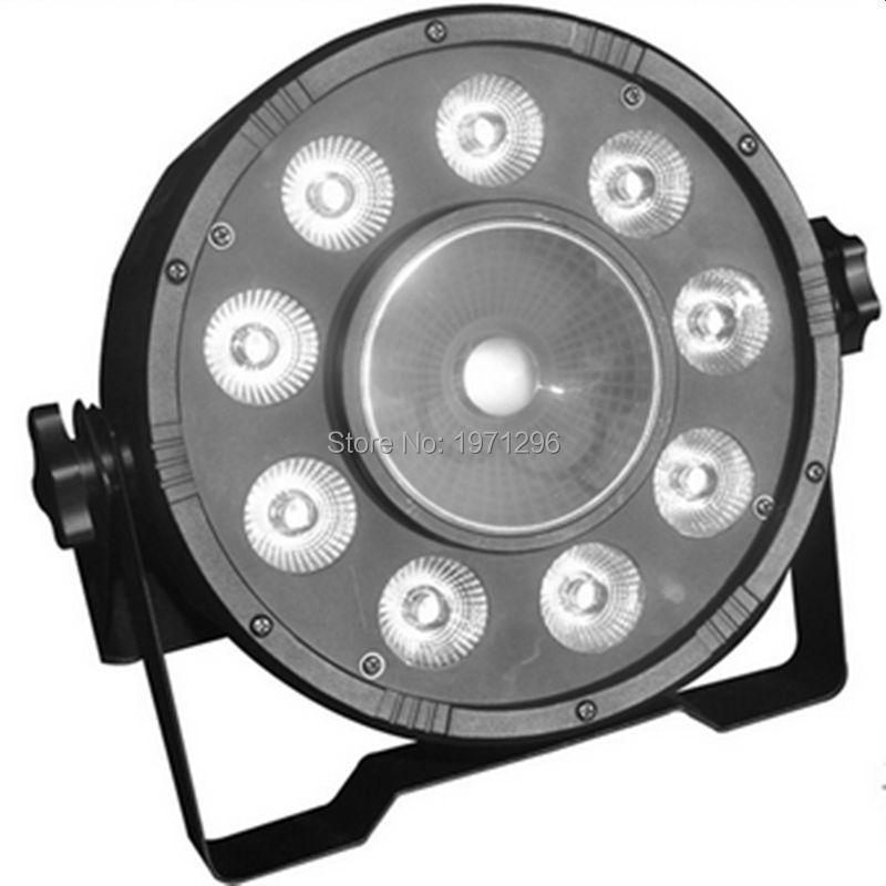 4pcs/lot Fast Shipping LED Fat Par 9X10W+1X30W Led Light RGB 3IN1 LED Light Stage DJ Light DMX Led Par Par Party Lights<br>