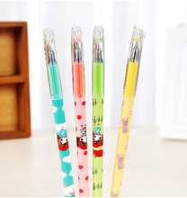 Creative Curly Hair Girl Gel Ink Pen Promotional Gift Stationery Novelty Needle Fountain Pen(China)