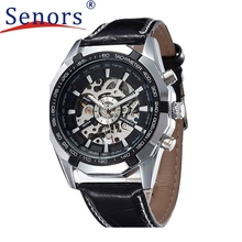 Attractive Automatic Mechanical Watch Men Hollow Retro Machinery Present Steel Table June 17