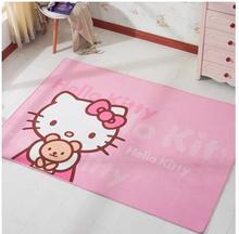 Many Size Cartoon Hello Kitty Home Door Mat Living Room Carpet Small Floor Mat For House Car(China)