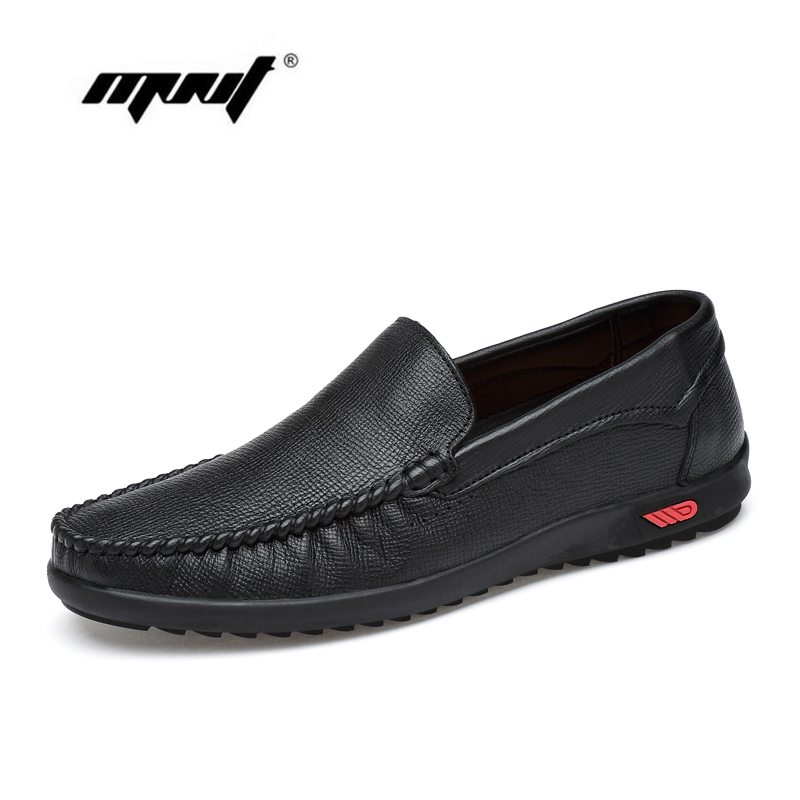 High Quality Natural Leather Men Flats Shoes, Fashion Lace Up Driving Shoes Men Loafers Moccasin Handmade Men Casual Shoes<br>