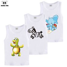 Baby Boy Girl 3d Horse T-Shirt Kids Clothes Children' Clothing Tops Teens T-shirts for girls boys Clothes Children T shirts 7 8(China)
