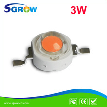 1W/3W Full Spectrum Bridgelux led chip , 400nm-840nm 3w led Diodes for plant grow