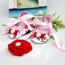 Rhinestone Newborn Baby Shoes Branded;Toddler Baby Girl Shoes infant moccs;shoes for girls size 3 Infant Baptism Shoe(China)