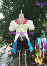 The Nine-Tailed Fox Acrade Ahri Cosplay Costume Anime Custom Made Uniform Any Size