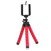 New Mini Flexible Sponge Octopus Tripod Bracket Stand Mount For iPhone Samsung Gopro Camera Tripod Phone Holder for Camera DSLR(China)