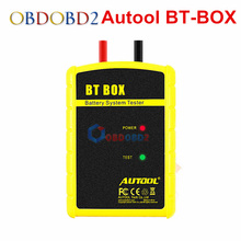 New Arrival Battery Tester AUTOOL BT BOX BTBOX Support Android ISO Tablet Powerful Function Automotive Battery Analyzer Tool(China)