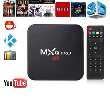 LumiParty MXQ pro Amlogic S905X Android Smart TV Box 1GB  8GB HD 1080P 4k*2k Streaming Iptv Box Media Player Set-top box