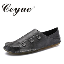 Buy Ceyue Mens Casual Shoes Fashion Microfiber Men Loafers Slip-On Breathable Moccasins Hasp Flats Walking Footwear Shoes Male for $26.23 in AliExpress store