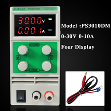 Mini Adjustable DC Power Supply,laboratory Power Supply,Digital Variable Voltage regulator 30V10A Four display PS3010DM(China)