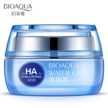 BIOAQUA Moisturizers Replenishment Cream Hyaluronic Acid day creams face skin care Whitening skin HA anti aging anti wrinkles(China)