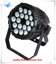 A- (4pcs/lot) outdoor led par can 18x18w RGBWA UV waterproof