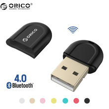 ORICO BTA-408 Mini USB Bluetooth 4.0 Adapter for Notebook Desktop PC Suit for IOS and Windows(China)