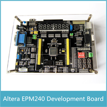 Altera EPM240 Board Multi-function CPLD Development Board + USB Blaster with AD DA Stepper Motor Infrared Receiver