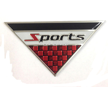 Car Styling Sports Emblem Badge Sticker For Volkswagen BMW Ford Volvo Chevrolet Audi Opel Mazda Fiat Citroen Renault Peugeot(China)