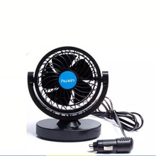 Wholesale droshipping New 12V Mini Air Fan Powered Truck Car Vehicle Cooling Adsorption Summer Gift Car Interior Accessories(China)