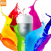 100% Original Xiaomi Colorful Yeelight Smart LED Light Bulb Lamp  support Android ios WiFi Smart Phone Remote Control