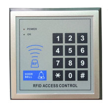 free ship by DHL ,em access control+ power+magnetic lock+U bracket +remote control +exit button +door bell +10 tags,sn:em-005s