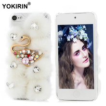 YOKIRIN Diamond Case For iPhone 7 Plus Touch 5 6 Glitter Cover For Samsung Galaxy S7 S6 Edge Plus Note 5 For Huawei P8 P9 Lite(China)