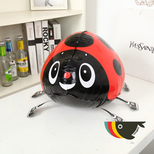 56*43cm Red ladybug balloon walking balloons animals inflatable air globos for party supplies kids toys pet Children's Day balao