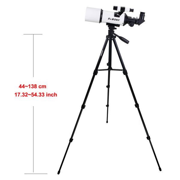 SVBONY 80mm Refractor Telescope Fully Coated Glass Optical 54 (21)
