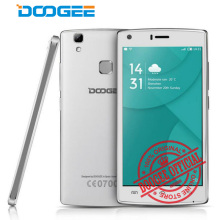 "Doogee X5 Max Smartphone 5.0"" MTK6580 Quad Core cell phone Android 6.0 HD Screen Dual SIM Fingerprint ID 4000mah 3G Mobile phone(China)"