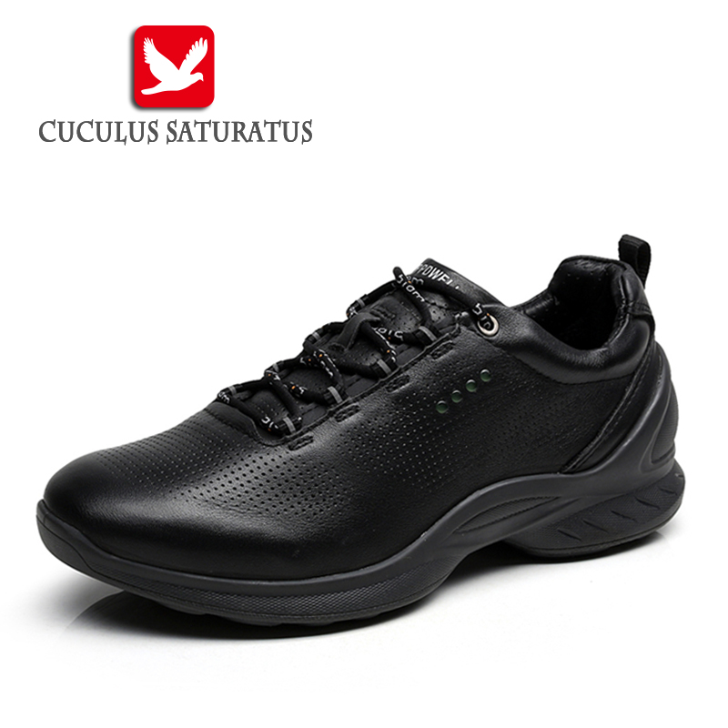Autumn Winter Genuine leather Shoes Man Running Shoes Snow Shoe Sport Shoes Outdoor Leisure Sneakers Zapatillas Mujer 837514<br>