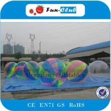 4pcs+1Pump,With Good Discount Of TPU Water Walking Ball,2M Zorb Water Human Ball,Free Shipping With Fast Delivery(China)