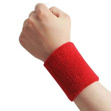 Sport Wristband Brace Wrap Bandage Gym Strap Running Safety Wrist Support Padel Pulseira Badminton Wrist Band 1 Piece(China)