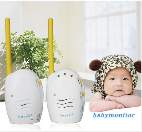 New Arrival Factory Outlet Wireless Digital Audio Baby Monitor Clear Audio One-way Intercom Affordable Prices<br>