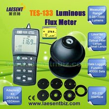 Handheld Luminous Flux Meter Light Tester Accurate and Instant Response Range 7000 Lumens RS232 TES-133