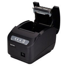 POS printer  High quality 200mm/s 80mm thermal printer Kitchen printer Auto Cutter printer with USB+Serial / Lan Port