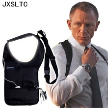 Cool Storage Bag Travel Police Men's Punishment FBI Invisible Armpits Pocket mp3 Passports Organizer Mobile Phone Storage Bag(China)