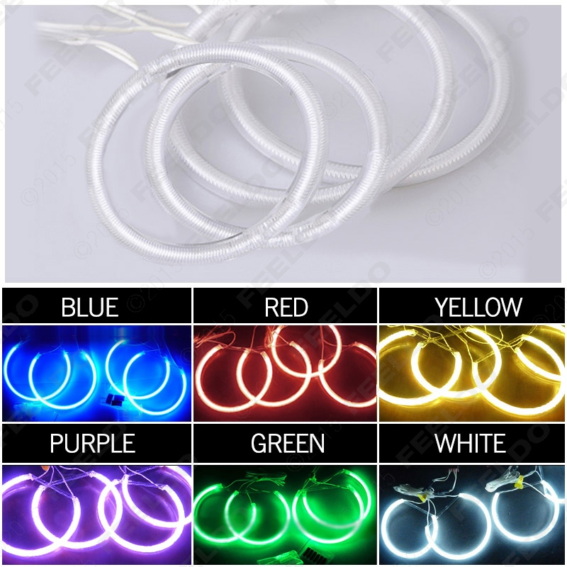 Car 6-Color Headlight CCFL Angel Eyes Halo Rings For BYD F3 #J-3396<br><br>Aliexpress