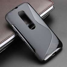 2015 S Line Gel TPU Slim Soft Anti Skiding Case Back Cover For Motorola Moto G3 G 3nd Gen G 3 Mobile Phone Rubber Silicone Cases