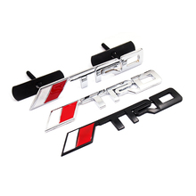 3D Metal TRD Grille Emblem badge Sticker Styling TRD Metal Emblem car accessories for toyota Racing Car Logo JDM Hood Badge