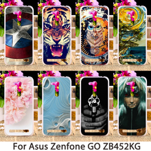 Soft Phone Cases Asus Zenfone GO 2nd Gen ZB452KG ASUS_X014D ZB450KL Case Smartphone Hard Back Skin Housing Sheath Bag Hood - 3C Accessories Shops Store store