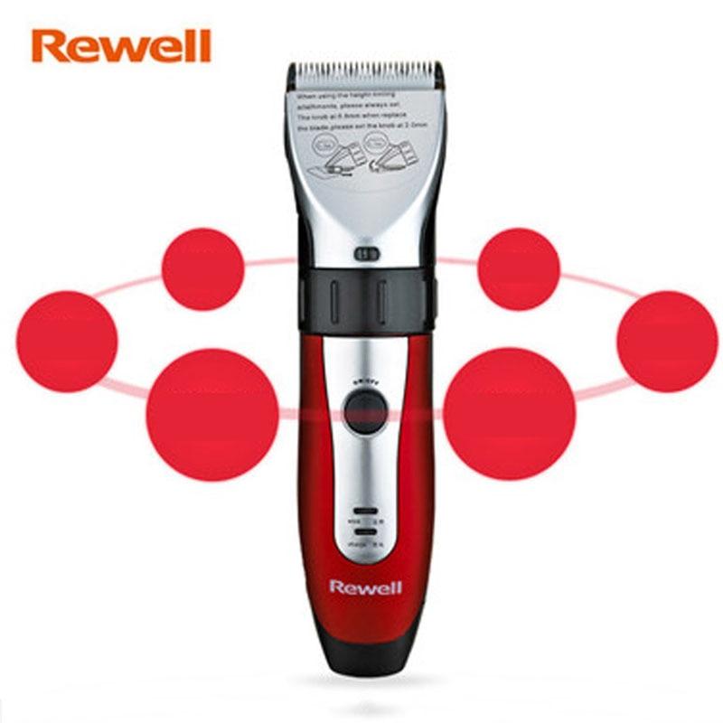 Rewell RFCD-988A Electric hair clipper Beard Trimmer Hair cutting machine Rechargeable Cordless Wireless Men 100-240V G998<br>