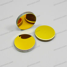Free Shipping 10pcs/lot Diameter 20mm  K9 Glass Co2 Laser Mirror Laser Reflector For 40W Co2 Laser Machine