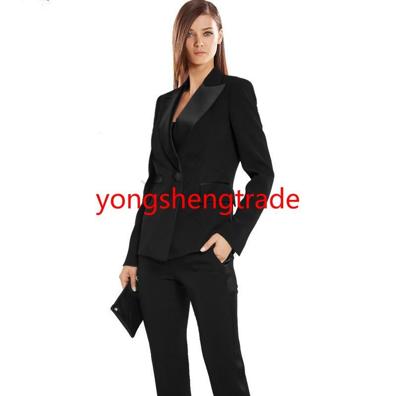Jacket-Pants-Womens-Business-Suits-Black-Double-Breasted-Female-Office-Uniform-Black-Satin-Lapel-Formal-Ladies_meitu_13
