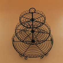 3 Tiers Cake Metal Rack Cupcakes Dessert Stand Holder Great for Valentines Day