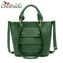CHISPAULO Famous Brands Designer Women Purses And Handbags Casual Women's Genuine Leather Handbags Messenger Crossbody Bags X89(China)