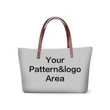Buy 2017 Cute custom pattern Girl Handbag Brand Women Large Tote Bag Female Designer Hand bags fashion large shoulder bags for $9.99 in AliExpress store