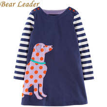 Bear Leader 2017 New Autumn&Winter Girls Clothing Dresses European and American Style Children Princess Dresses Kids Clothes