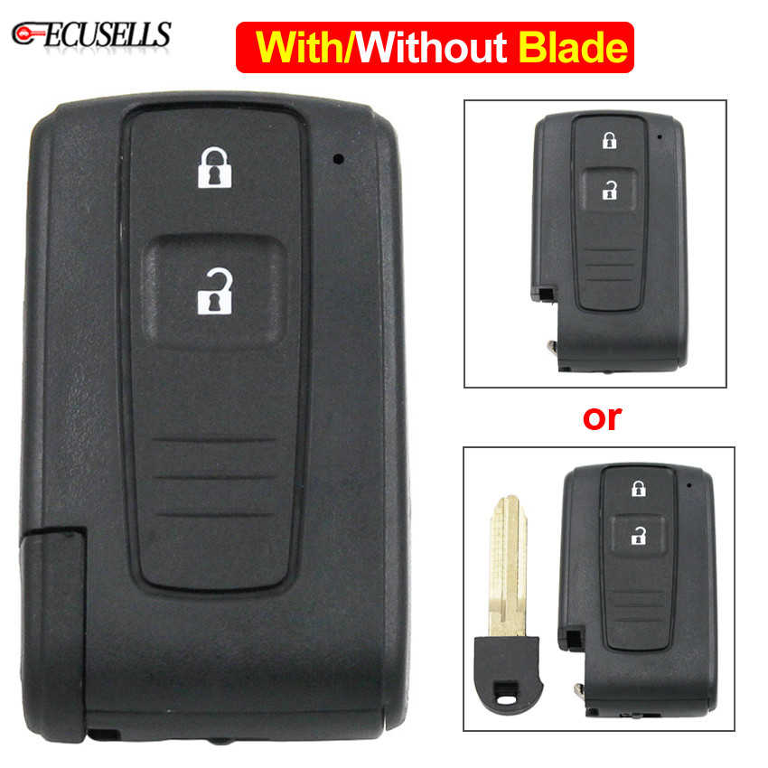 FOR TOYOTA AVENIS CROWN PRIUS VERSO RAV 4 SMART 3 BUTTON REMOTE KEY CASE 43