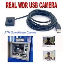 Low Lux Micro Hidden Surveillance WDR HDR USB Digital Camera for ATM Machine